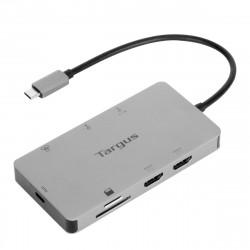 Targus - Station d'accueil - USB-C / Thunderbolt 3 - 2 x HDMI - GigE