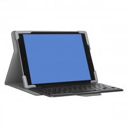 Targus Pro-Tek Universal - Clavier et étui - sans fil - Bluetooth 5.0 - noir clavier, noir étui - B2B