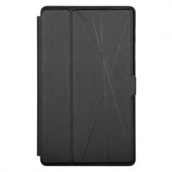 """Targus Click-In - Protection à rabat pour tablette - polyuréthanne thermoplastique (TPU) - noir - 8.7"""" - pour Samsung Galaxy T"""