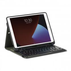 Targus Pro-Tek Education - Clavier et étui (étui folio) - sans fil - Bluetooth 5.1 - Allemand - noir clavier, noir étui - pour
