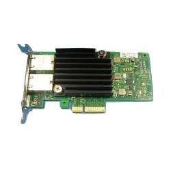 Intel X550 - Adaptateur réseau - PCIe profil bas - 10Gb Ethernet x 2 - pour EMC PowerEdge C6420, R330, R430, R640, R740, R830,