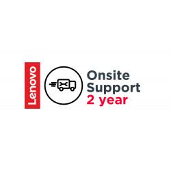 Lenovo Post Warranty Onsite - Contrat de maintenance prolongé - pièces et main d'oeuvre - 2 années - sur site - pour ThinkPad