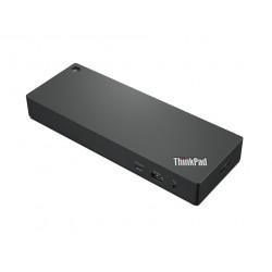 Lenovo ThinkPad Thunderbolt 4 WorkStation Dock - Réplicateur de port - Thunderbolt 4 - HDMI, 2 x DP, 2 x Thunderbolt - GigE - 3