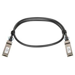 D-Link - Câble d'attache directe 100GBase - QSFP28 pour QSFP28 - passif - noir