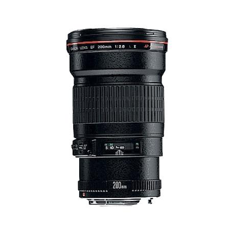 Canon EF - Téléobjectif - 200 mm - f/2.8 L II USM - Canon EF - pour EOS 1000, 1D, 50, 500, 5D, 7D, Kiss F, Kiss X2, Kiss X3, Re