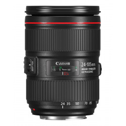 Canon EF - Objectif à zoom - 24 mm - 105 mm - f/4.0 L IS II USM - Canon EF