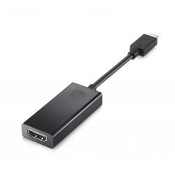 HP - Adaptateur vidéo - USB-C mâle pour HDMI femelle - support 4K - pour OMEN by HP 15, HP 24, Chromebook x360, ENVY x360, Pavi
