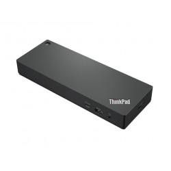 Lenovo ThinkPad Universal Thunderbolt 4 Dock - Station d'accueil - Thunderbolt 4 - HDMI, 2 x DP - GigE - 135 Watt - Europe - p