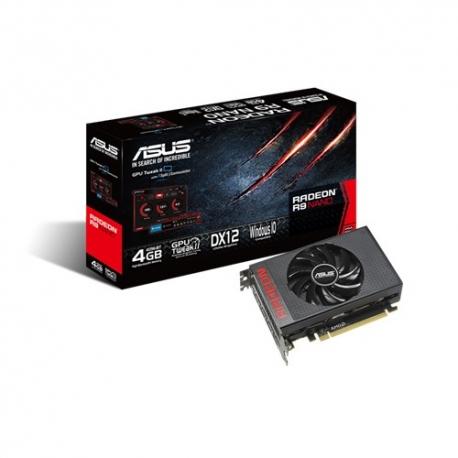 ASUS R9NANO-4G - Carte graphique - Radeon R9 NANO - 4 Go HBM - PCIe 3.0 x16 - HDMI, 3 x DisplayPort