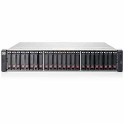 HPE Modular Smart Array 1040 Dual Controller SFF Bundle - Baie de disques - 2.4 To - 24 Baies (SAS-3) - HDD 600 Go x 4 - iSCSI