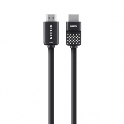 Belkin High Speed HDMI Cable with Ethernet - HDMI avec câble Ethernet - HDMI (M) pour HDMI (M) - 1.8 m - double blindage