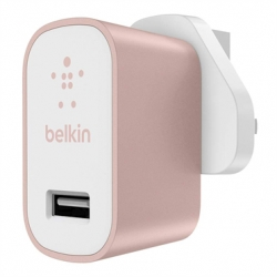 Belkin MIXIT Home Charger - Adaptateur secteur - 2.4 A (USB) - rose gold