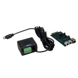 Tripp Lite SNMP/Web Interface with Remote Cooling Management - Carte de supervision distante - 10Mb LAN