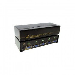 Splitter VGA+A 4ports-2048x1536(450 Mhz)