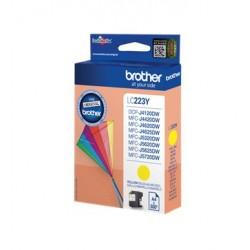 Brother LC223Y - Jaune - original - cartouche d'encre - pour Brother DCP-J4120, J562, MFC-J4625, J480, J5320, J680, J880, Busi