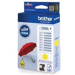 Brother LC225XLY - Jaune - original - cartouche d'encre - pour Brother DCP-J4120, MFC-J4420, J4620, J5320, J5620, J5625, J5720