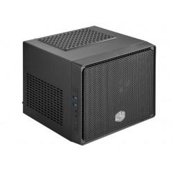 Cooler Master Elite 110 - Format ultra petit - mini ITX (ATX / PS/2) - noir minuit - USB/Audio