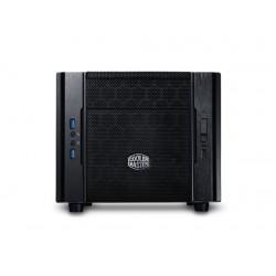 Cooler Master Elite 130 - Format ultra petit - mini ITX - pas d'alimentation (ATX / PS/2) - noir - USB/Audio