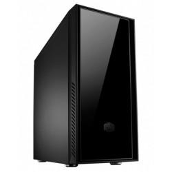 Cooler Master Silencio 550 - Tour midi - ATX - pas d'alimentation (ATX / PS/2) - noir - USB/Audio