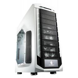 Cooler Master CM Storm Stryker - Pleine tour - ATX - pas d'alimentation (ATX12V / EPS12V / PS/2) - noir & blanc - USB/Audio