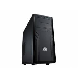 Cooler Master CM Force 500 - Tour midi - ATX - pas d'alimentation (ATX / PS/2) - noir - USB/Audio