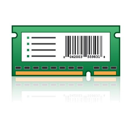 Lexmark Forms and Bar Code Card - ROM - code à barres, formulaires - pour Lexmark CX522, CX622, CX625, MX522, MX722, MX822, XC4