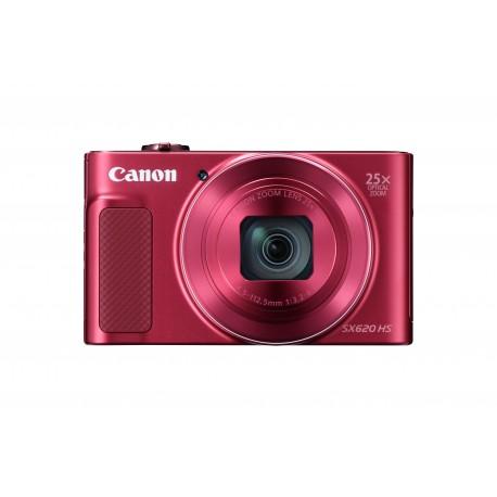 Canon PowerShot SX620 HS - Appareil photo numérique - compact - 20.2 MP - 1080p / 30 pi/s - 25x zoom optique - Wi-Fi, NFC - rou