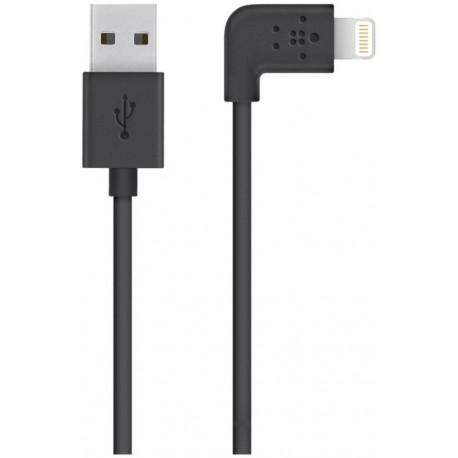 Belkin MIXIT - Câble Lightning - Lightning (M) incliné pour USB (M) - 1.2 m - noir - pour Apple iPad/iPhone/iPod (Lightning)