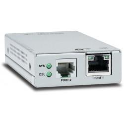 Allied Telesis AT MMC6005 - Rallonge réseau - GigE, Ethernet over VDSL2 - 10Base-T, 100Base-TX, 1000Base-T - jusqu'à 3 km