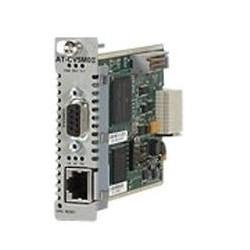 Allied Telesis AT-CV5M02 - Carte de supervision distante - 100Mb LAN, RS-232 - 100Base-TX - pour Converteon AT-CV5000